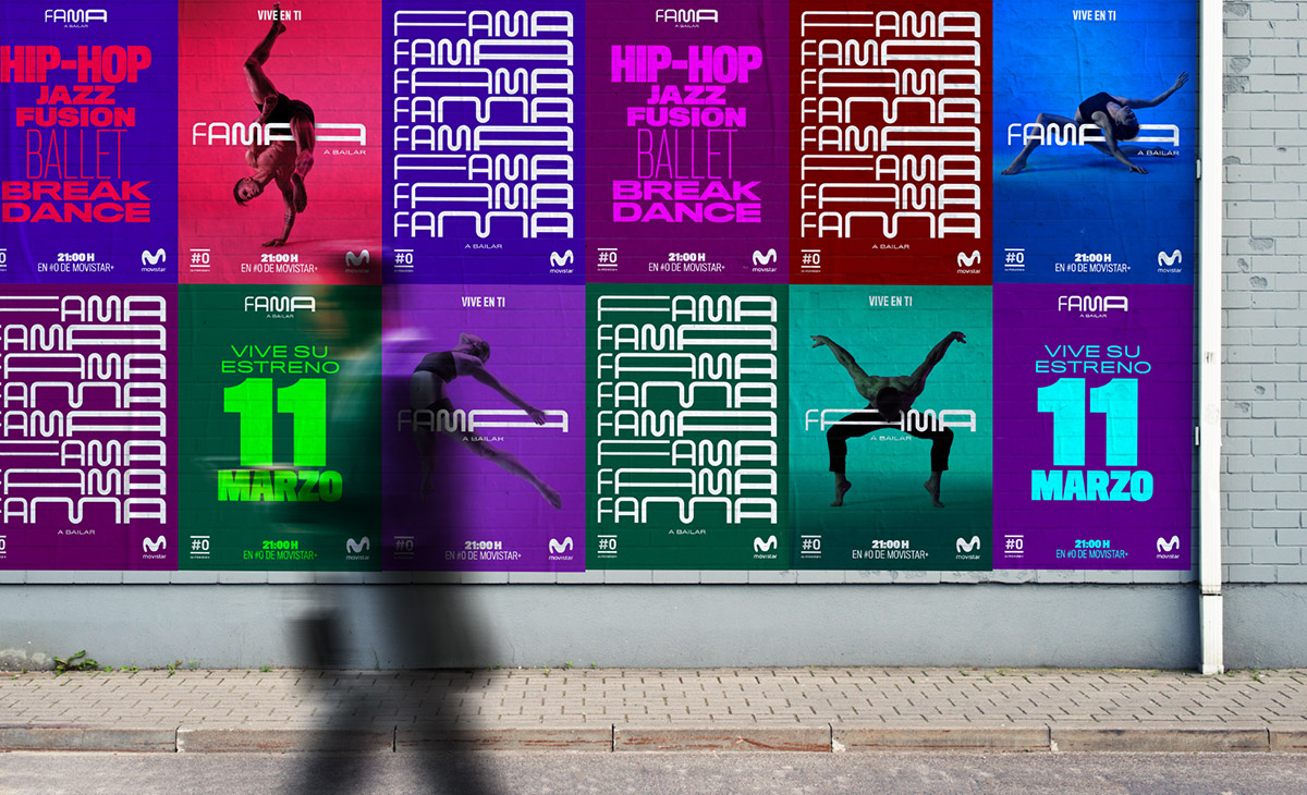 Un logo flexible que interactúa con los bailarines. Así es la nueva ...
