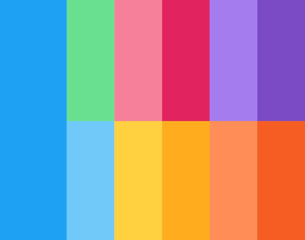 diseño gráfico Diseño gráfico de Twitter colores twitter