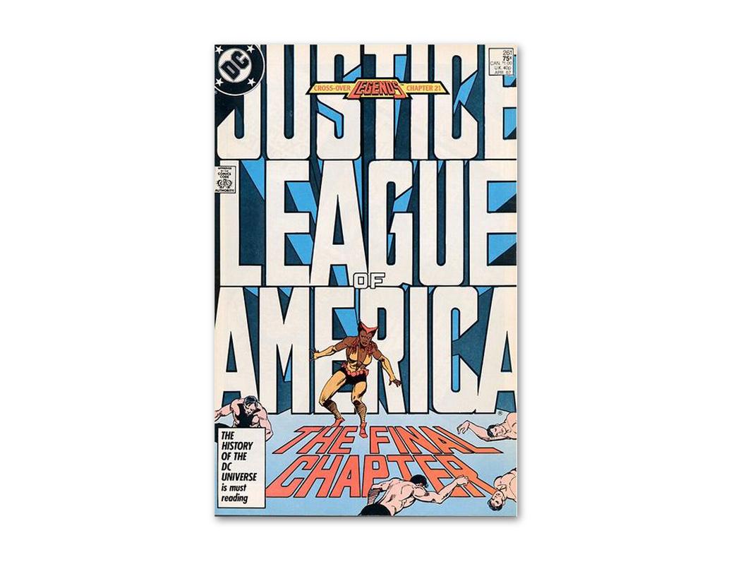 El logo y la tipografía de la nueva \'Liga de la Justicia\' se ...
