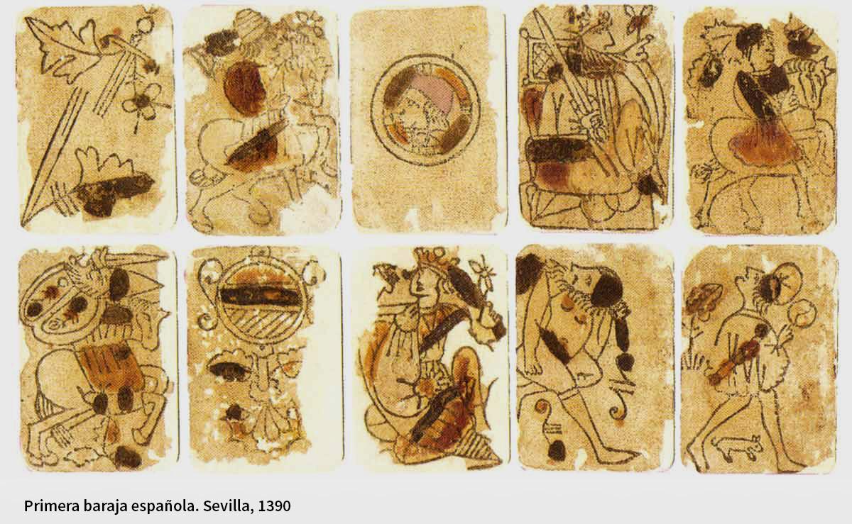 El curioso origen y significado de los símbolos de los naipes ...