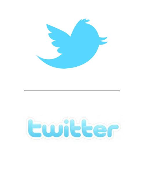 diseño gráfico Diseño gráfico de Twitter twitter logo antes