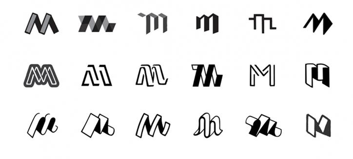 Nuevo logo para medium la plataforma de blogs del for Logos con letras