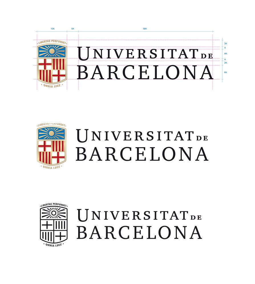 Se presenta un nuevo logo para la universidad de barcelona for Diseno de interiores barcelona universidad
