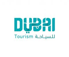 logo Dubai turismo y publicidad de marca