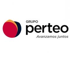logotipo grupo perteo - slogan avanzamos juntos