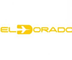 logotipo del aeropuerto el dorado