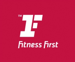 fitness first rediseño del logotipo de marca