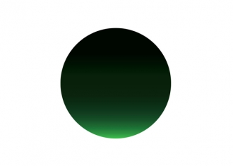 logotipo Milton Glaser cambio climatico verde y negro