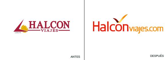 Halc n viajes se convierte en y renueva identidad brandemia - Oficinas viajes halcon ...