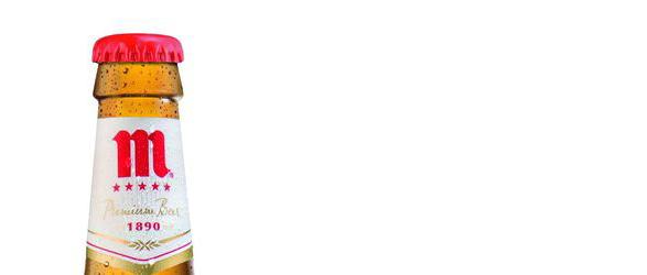 imagen de una botella de mahouy cinco estellas desde 1890