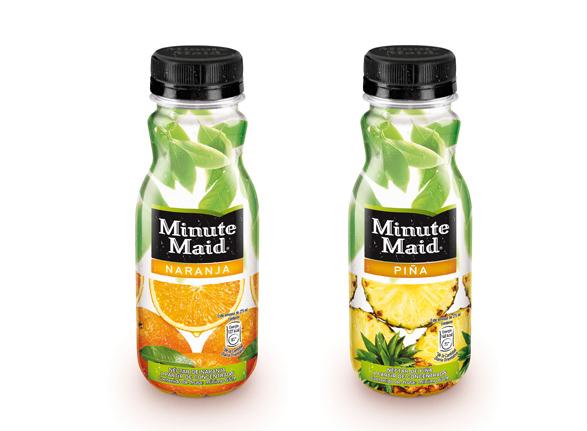 minute maid naranja imagen de botella