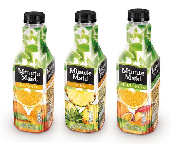 imagen de botella minute maid naranja piña y multifruta
