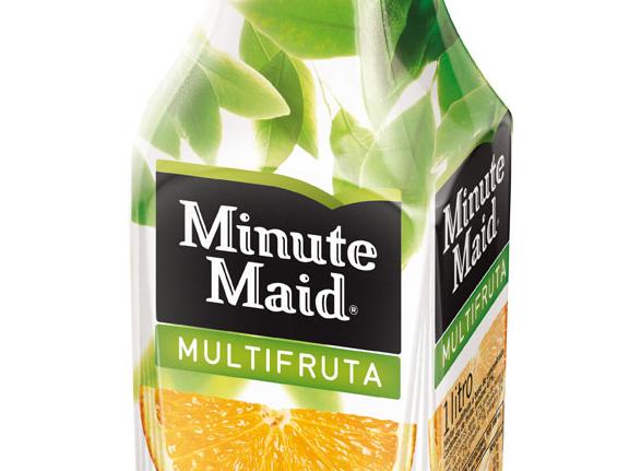 imagen del logo de minute maid multifruta