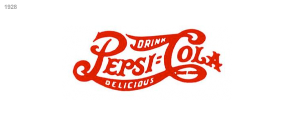 imagen logo pepsi 1928