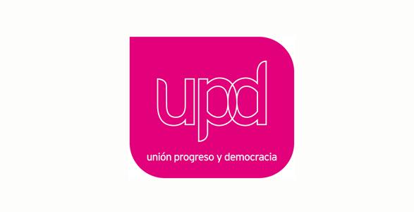 logo de UPD. union, progreso y democracia