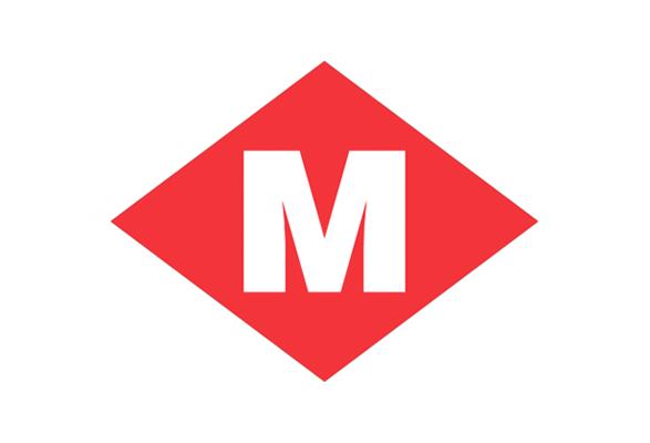 Los logos de Metro de España, uno a uno | Brandemia_