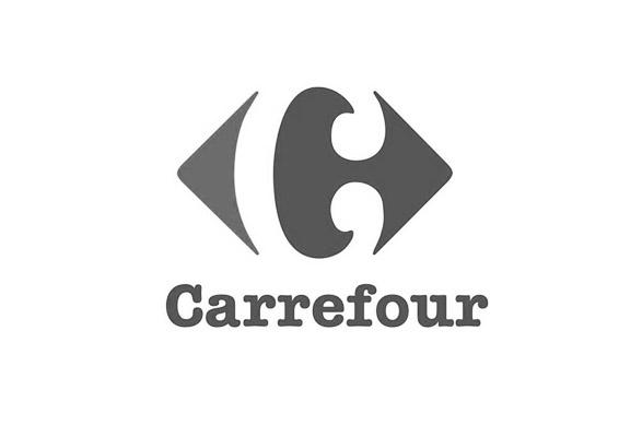 Ejemplo de imagotipo - logo Carrefour - Brandemia_
