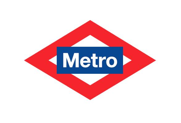 logotipo del metro de madrid