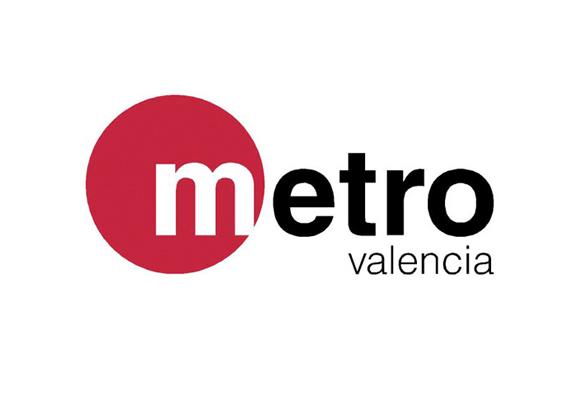 logotipo del metro de Valencia