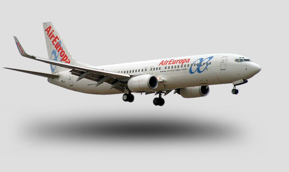 avión air europa imagen