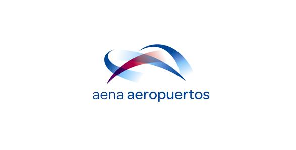 logotipo aena aeropuertos