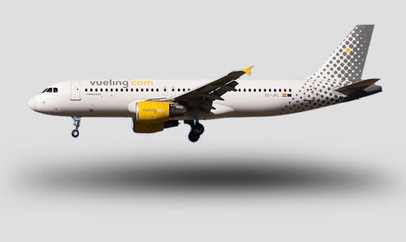 imagen avión vueling