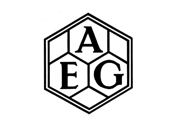 imagen del logotipo de la empresa alemana aeg