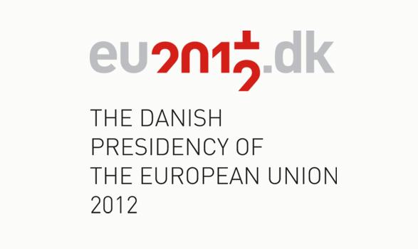 logo de la presidencia europea de Dinamarca 2012