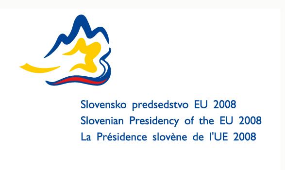 logo de la presidencia europea de Eslovenia 2008