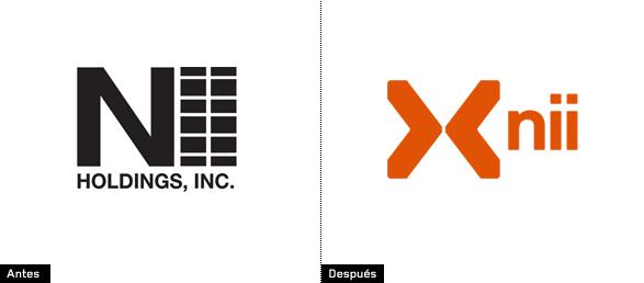 cambio de color y letra del icono de nextel