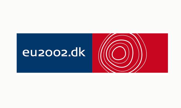 logo de la presidencia europea de Dinamarca 2002