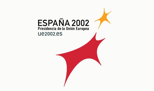 logo de la presidencia europea de España 2002