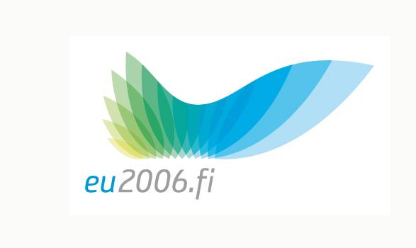 logo de la presidencia europea de Finlandia 2006