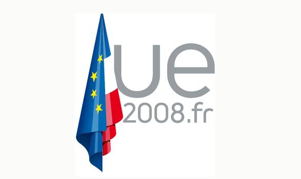 logo de la presidencia europea de Francia 2008