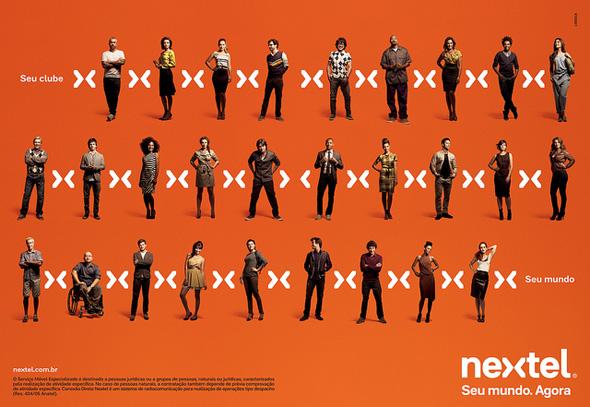 publicidad del simbolo de nextel imagen de marca
