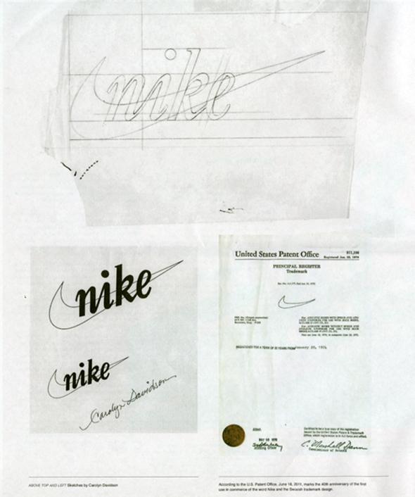 Bocetos antiguos de la marca nike - Brandemia_