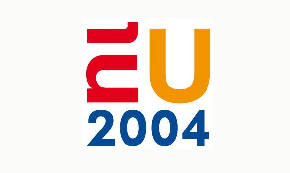 logo de la presidencia europea de Holanda 2004