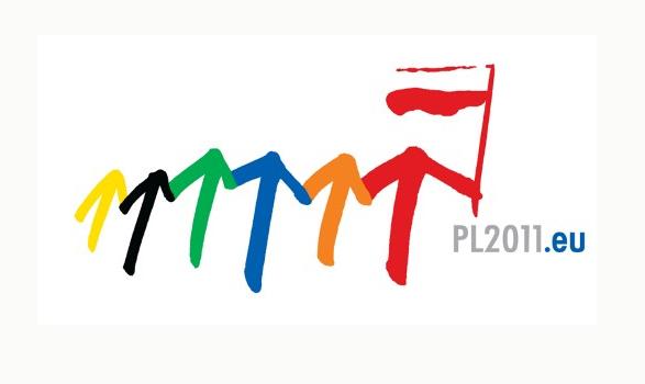 logo de la presidencia europea de Polonia 2011