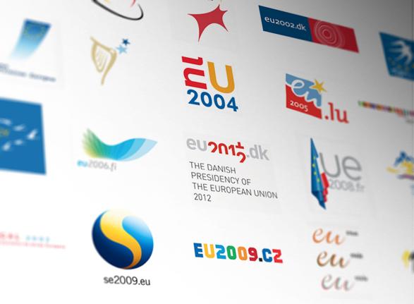 imagen logos de las presidencias europeas
