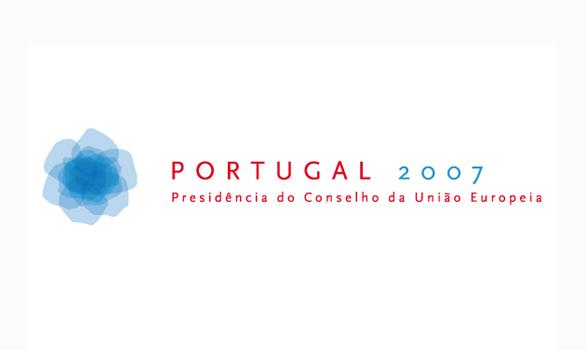 logo de la presidencia europea de Portugal 2007