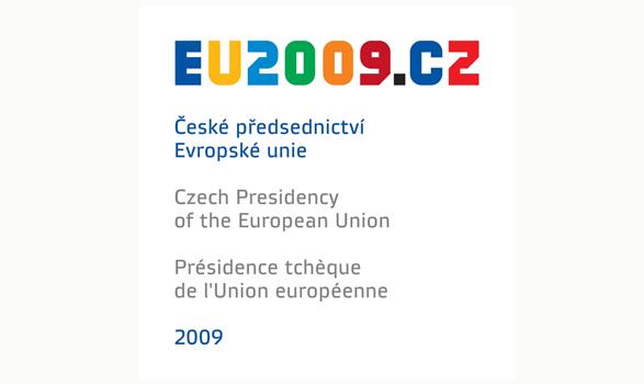logo de la presidencia europea de República Checa 2009