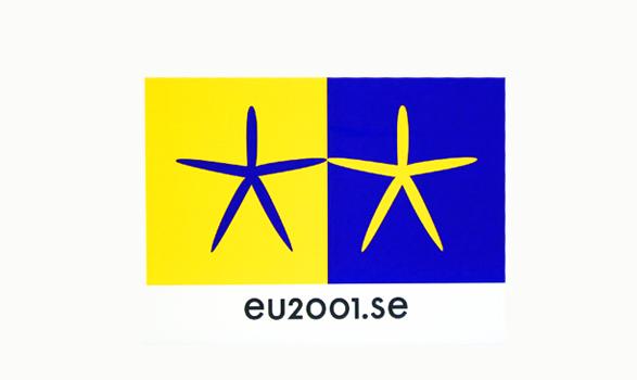 logo de la presidencia europea de Suecia 2001