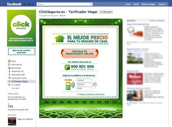 cambio de imagen en redes sociales de click seguros