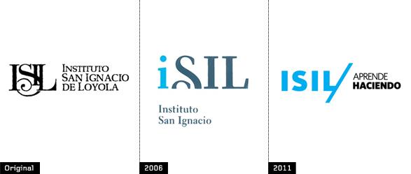 Instituto San Ignacio de Loyola evolucion del logotipo - Brandemia_