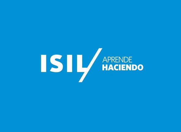 logotipo isil aprende haciendo