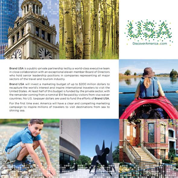 merchandising marca USA fomentar el turismo mediante publicidd
