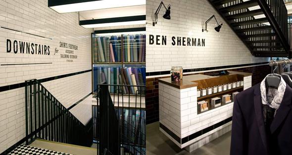 imagen de interior de tienda Ben Sherman