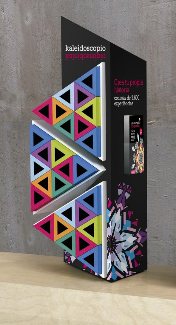 branding kaleidoscopio imagen de marca en el diseño de publicidad