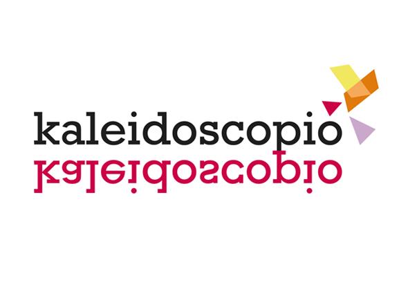 logotipo kaleidoscopio nueva marca venta de cajas de experiencia