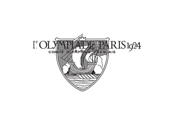 Logo de las primeras olimpiadas París 1924